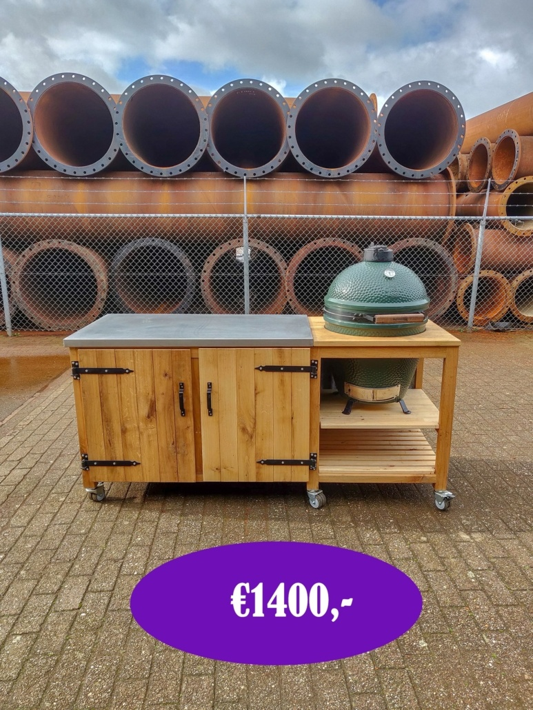 Big green egg werktafel